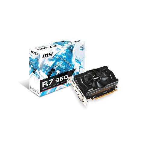 Vga Card R7 Msi 2g R7 360 Oc Vga Card