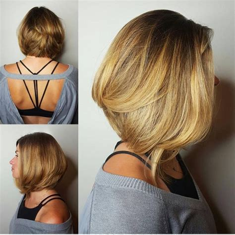 how to cut a modern lob 25 best ideas about a line bobs on pinterest a line cut