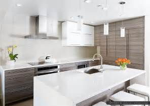 Modern Subway Tile modern white kitchen with subway marble backsplash tile