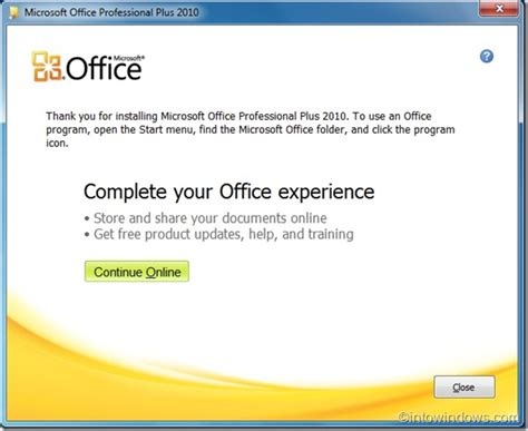 Install Microsoft Office how to install office 2010