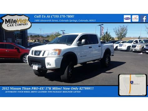 car owners manuals for sale 2012 nissan titan on board diagnostic system nissan titan colorado cars for sale
