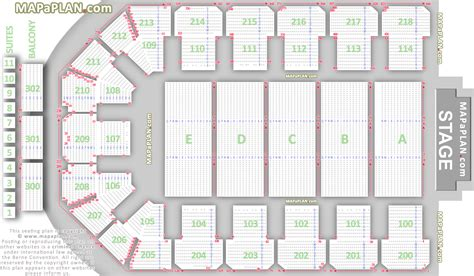 newcastle metro radio arena detailed seat numbers row