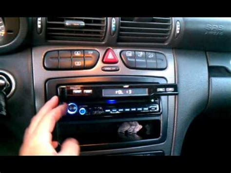 benzwerks c class radio removal how to remove radio from 2003 mercedes c240 doovi