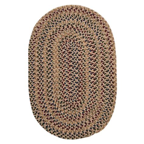safavieh braided multi 9 ft x 12 ft oval area rug