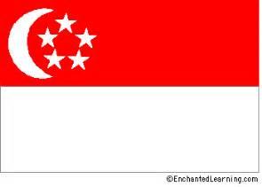 singapore s flag enchantedlearning com