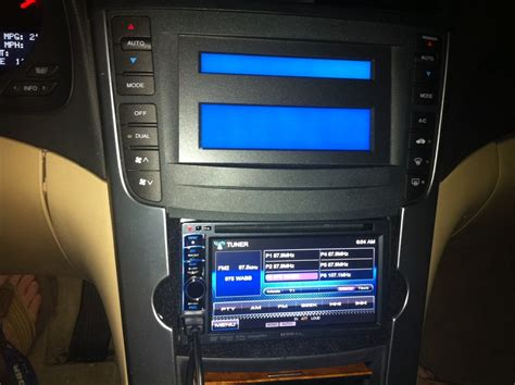 my acura radio code new stereo and backup install 2006 tl acurazine