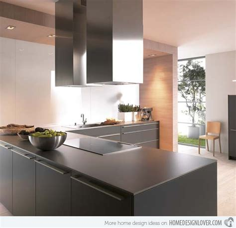 15 awesome black kitchen designs home design lover