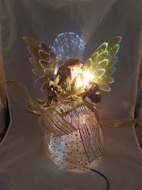 lighted fiber optic tree topper lighted tree topper shop collectibles daily