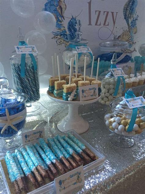 party themes with the color blue under the sea birthday party ideas birthdays sweet 16