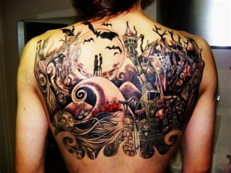 20 nightmare before christmas tattoos you ll totally want