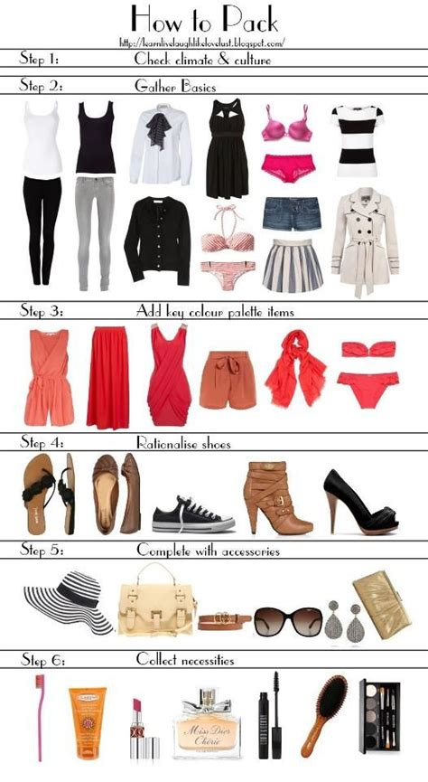 Wardrobe Mix And Match Ideas by Like These Mix And Match Ideas Traveling Tips