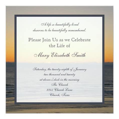 celebration of template celebration of invitation zazzle