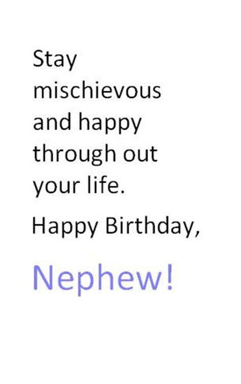 Nephew Quotes Birthday Nephew Birthday Quotes Quotesgram