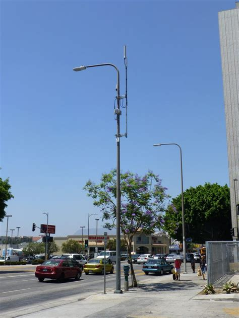 light poles in la part 4 design tips for small cells based on pole or