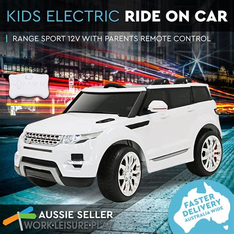 electric and cars manual 2004 land rover range rover parental controls kids electric ride on car range rover 12v children 3 speed remote ebay