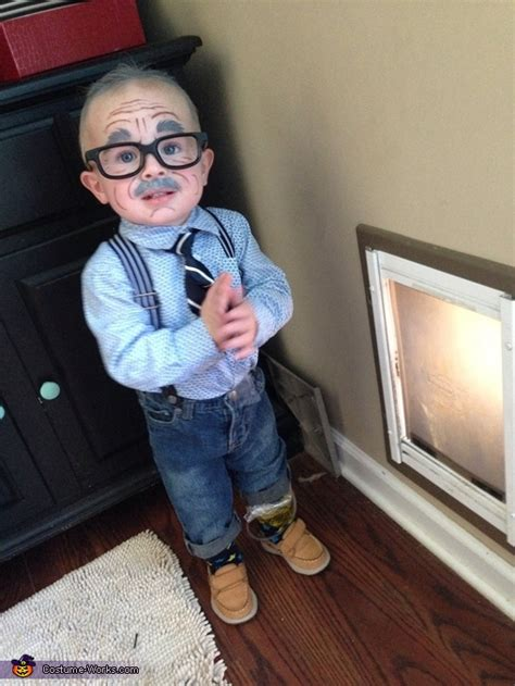 grandpa baby halloween costume photo