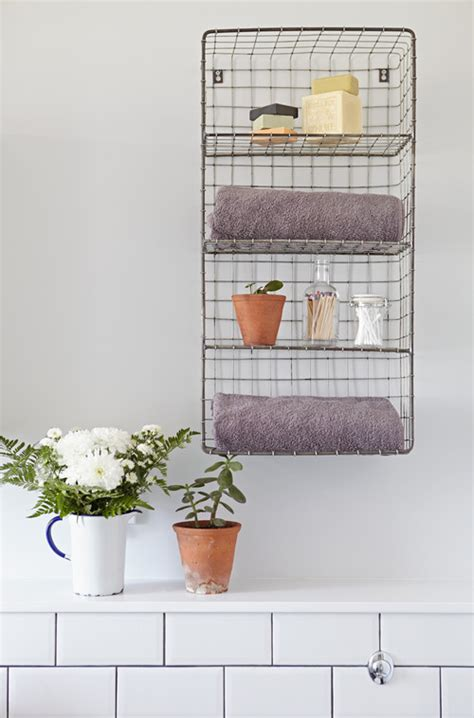 bathroom wire shelving 10 storage solutions for the bathroom huffpost