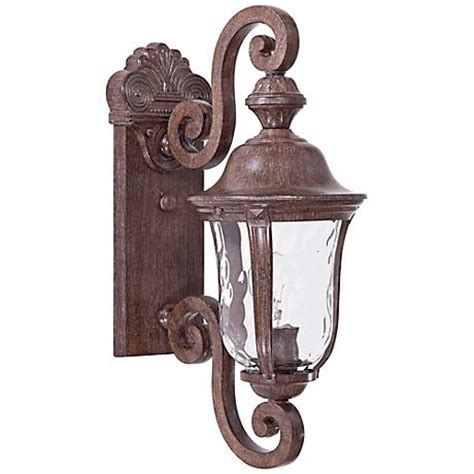 Ardmore Lights by Ardmore 19 3 4 Quot High Rust Outdoor Wall Light 50821