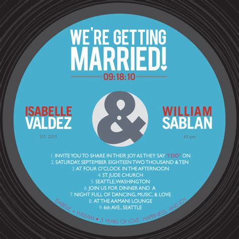 record label wedding invitations wedding invitations vinyl record at minted