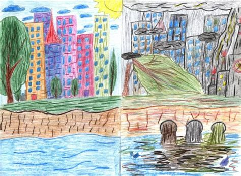 My Clean City Drawing