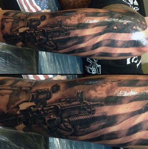 tattoo army man army sleeve tattoos on man awesome tats pinterest
