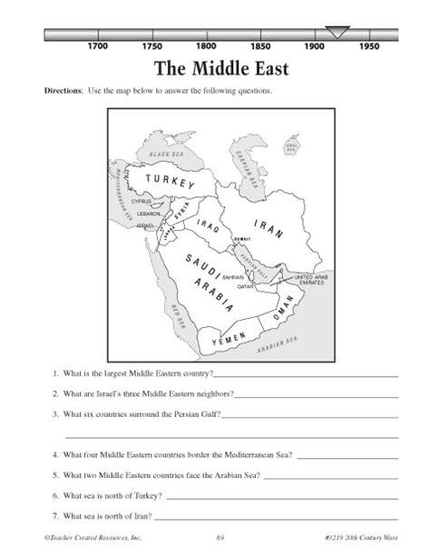 middle east map worksheet pin middle east worksheet pdf on