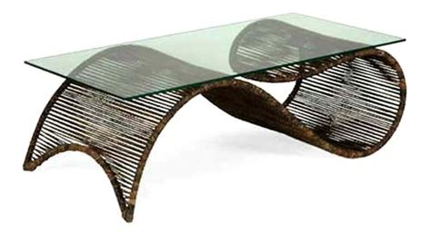 Contemporary Furniture From Wood Rattan Iron By Murillo Ansel Coffee Table Book
