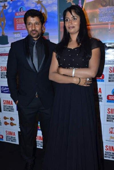 The gallery for --> Actor Chiyaan Vikram Wife Shylaja Photos