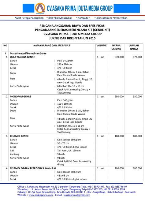 Tali Rami Tangerang genre kit 2015 generasi berencana kit 2015