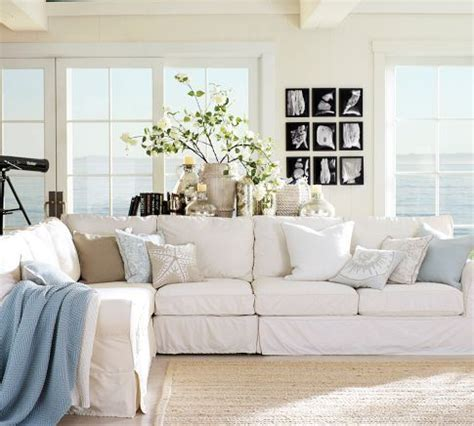 large sectional sofas deep seated sectionals pottery