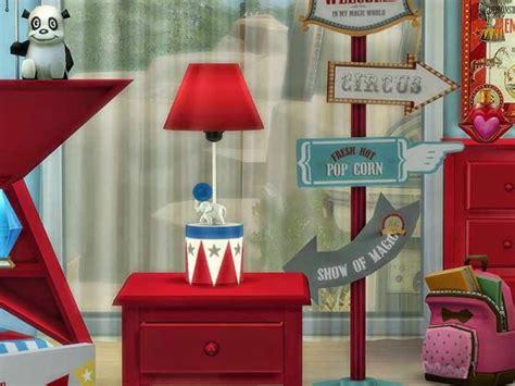simcontrol circus bedroom  pilar sims  downloads