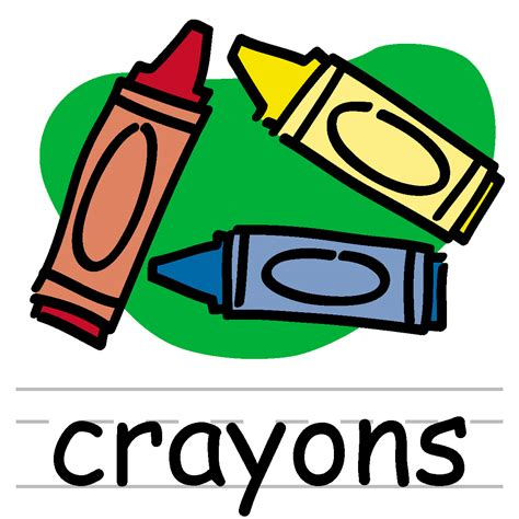 crayons clipart crayons clipart black and white clipart panda free