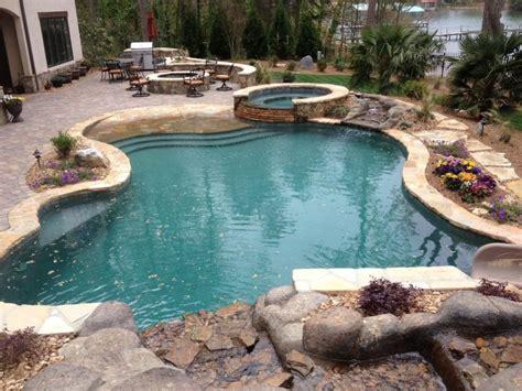 inground pool ideas inground pool landscaping ideas bistrodre porch and