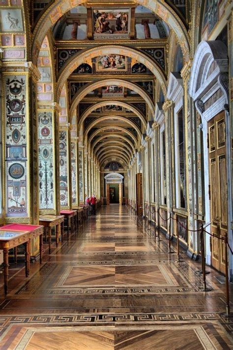my hermitage how the corridor of raphael loggias in hermitage museum st petersburg russia lugares 1