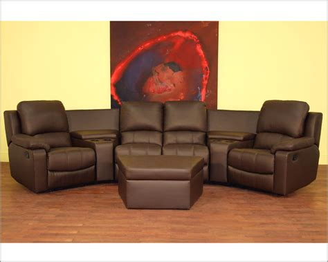 warehouse interiors home theater seating curved row