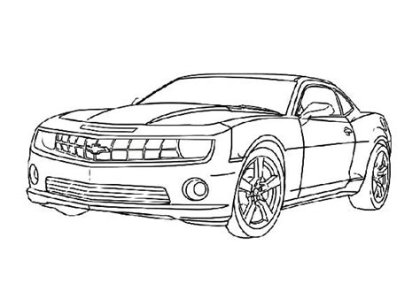 Bumblebee Transformer Coloring Pages Free