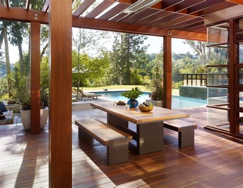 terrazzi arredamento strutture in legno per terrazzi pergole e tettoie da