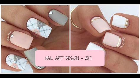 imagenes de uñas decoradas tumblr nail art design 2017 u 209 as decoradas f 193 ciles tumblr 2017