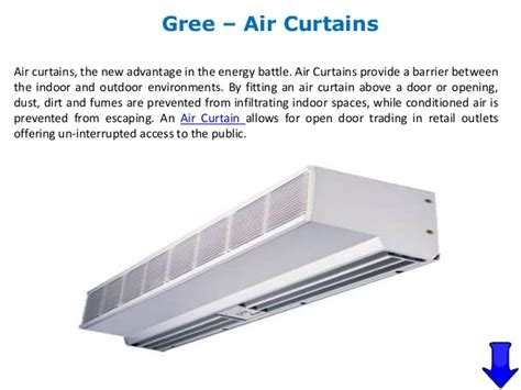 Ac Air Curtain air conditioners