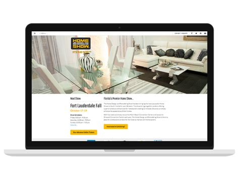 home design and remodeling show web design and online marketing for the home design and