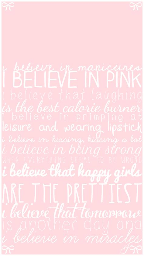 pink wallpaper with quotes pink girly quotes iphone wallpaper lock screen panpins