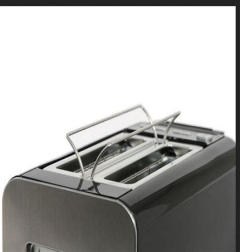Bosch Styline Collection Black 2 Slice Toaster Digital