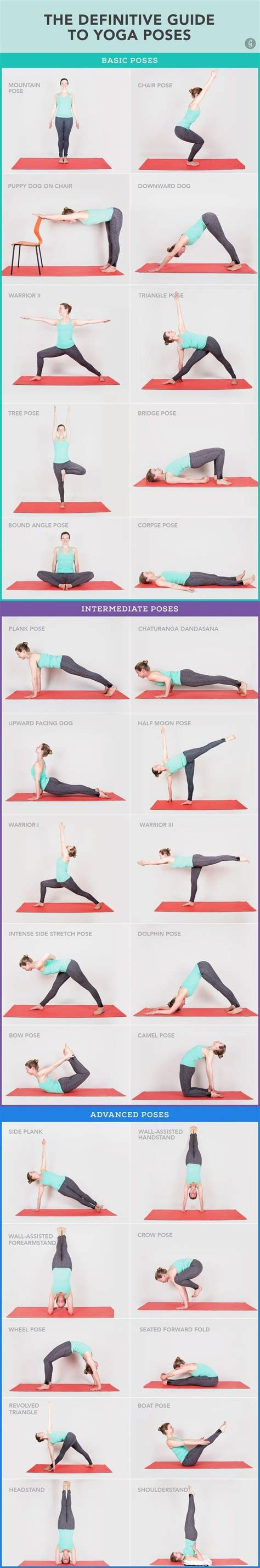 yoga tutorial for beginners 30 yoga poses you really need to know fitness how to