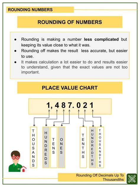 rounding  decimals   thousandths  grade math