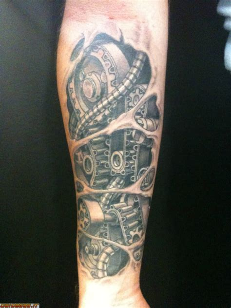 engine tattoo 45 mechanical engine tattoos