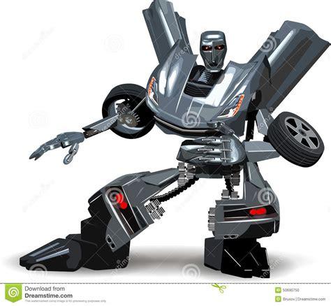 Tobot Car To Robot Robot To Car 16 Cm Merah robot car stock vector image of abstract machinery 50690750