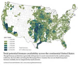 united states resource map biomass resources in the united states 2012 union of