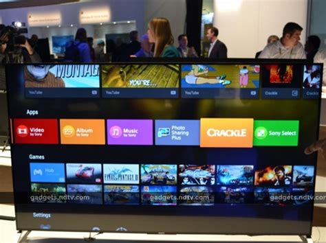 Tv Android Sony s domain grows as android tv takes root in