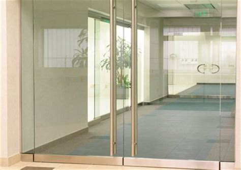 Herculite Glass Door Herculite Doors Custom Glass Panic Door Header