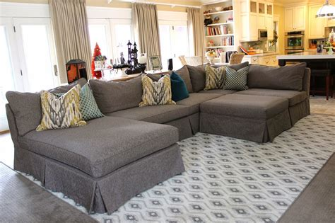 awesome slipcovers  sectional couches homesfeed